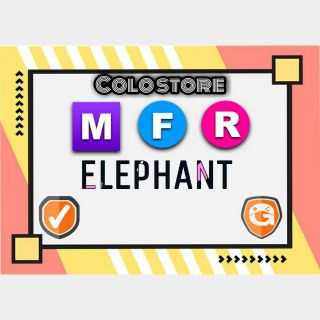 Pet   MFR ELEPHANT