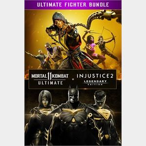 Mortal Kombat 11 Ultimate + Injustice 2 Leg. Edition Bundle