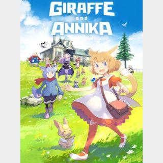 Giraffe and Annika(ジラフとアンニカ)