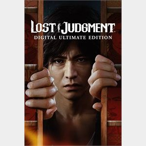 Lost Judgment Digital Ultimate Edition