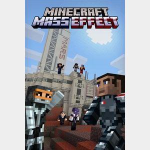 Minecraft Mass Effect Mash-up