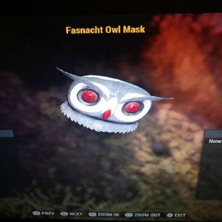 Apparel | Fasnacht Owl Mask
