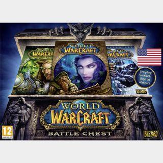 World of Warcraft Battle Chest 30 Days Battle.net CD Key USA