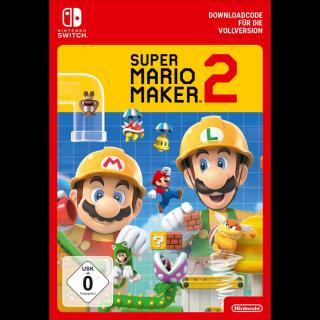 Super Mario Maker 2 | Switch Download Code 59.99€
