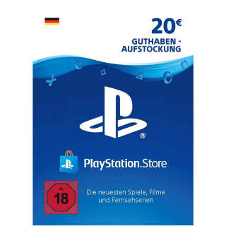 €20.00 PlayStation Store Gift Card Germany or Austria