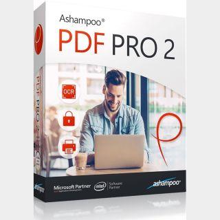 Ashampoo PDF Pro 2 - 3 Devices Lifetime Key GLOBAL