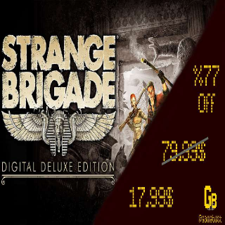Strange Brigade Digital Deluxe Edition Steam Key GLOBAL