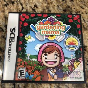 Nintendo DS Game Gardening Mama