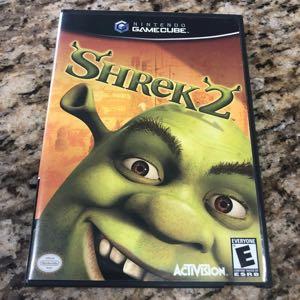 Nintendo GameCube Game Shrek 2