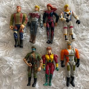 LOT 1996 Galoob The Real Adventures of Johnny Quest and others Action Figures Lot