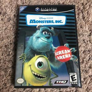 GameCube Disney Monsters Inc