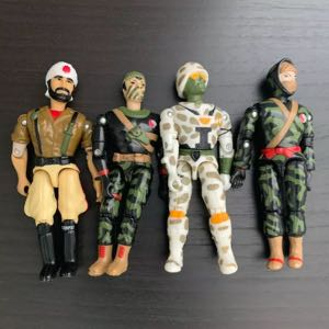 1986-1990 Lannard Action Figures The Corps