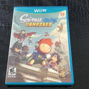 Nintendo Wii U Scribble Nauts Unmasked