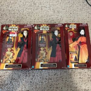 3 Star Wars Episode I Queen Amidala Collection