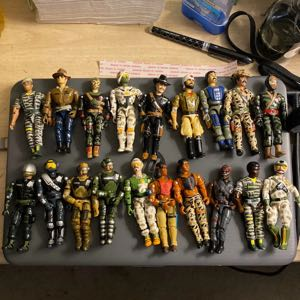 86-98 The Corps action figures Lannard