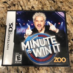 Minute To Win It DS Nintendo DS