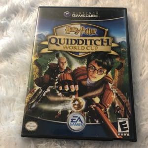 GameCube Harry Potter Quidditch World Cup