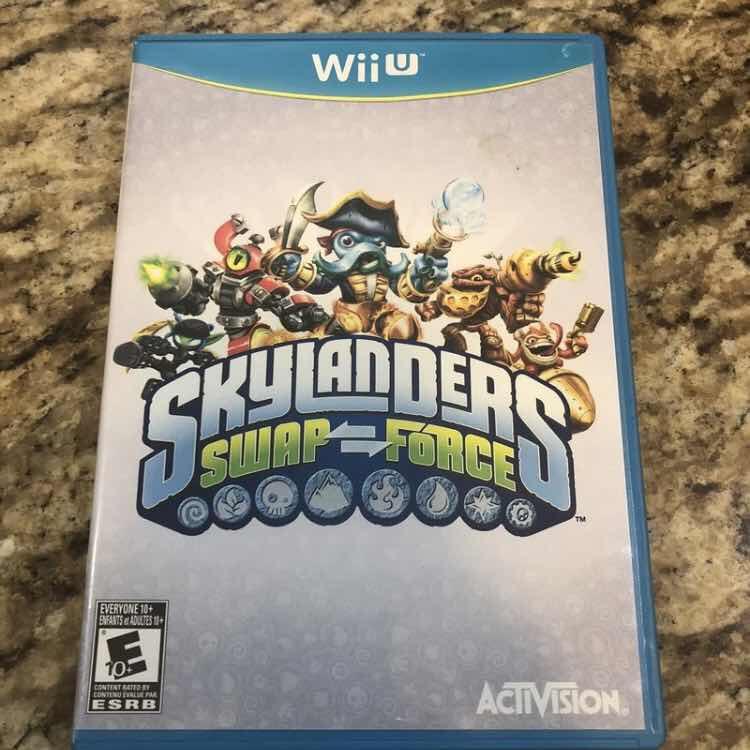 Skylanders: Swap Force Wii U