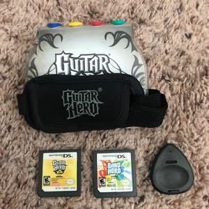Guitar Hero Handheld Controller & Games