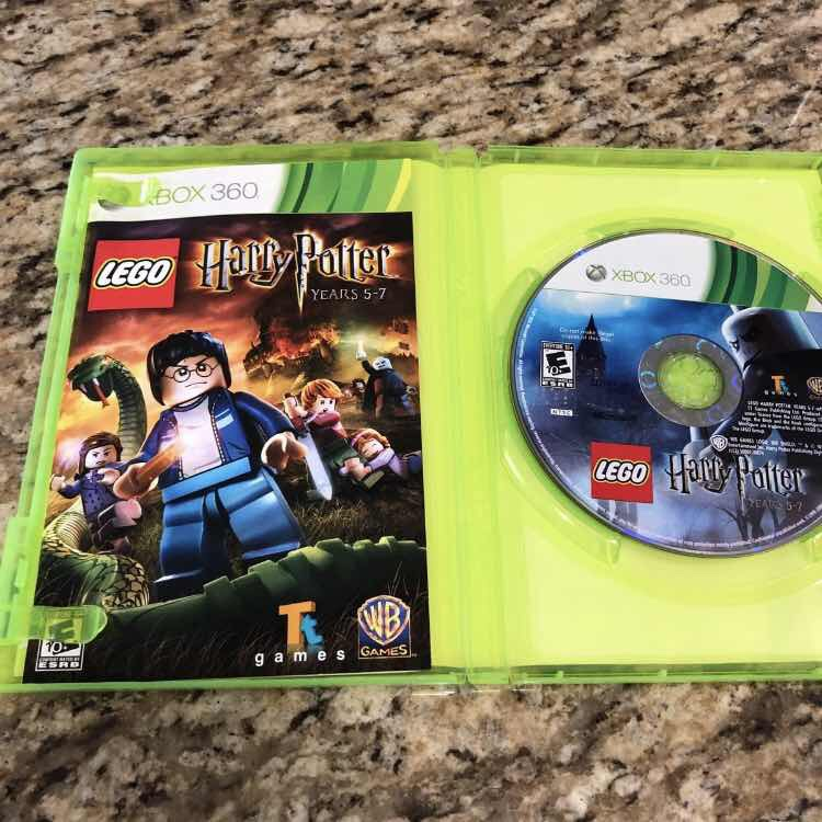 Xbox 360lego Harry Potter Years 5-7