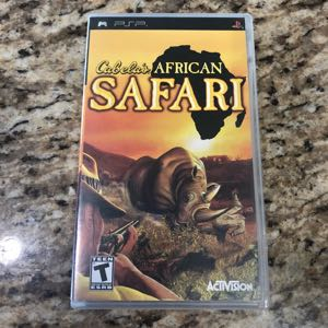 PSP Game Cabela's African Safari