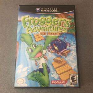 GameCube Frogger's Adventures The Rescue