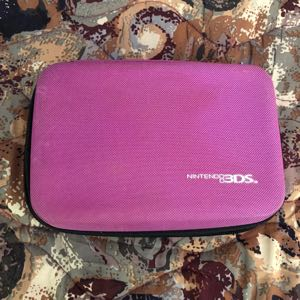 Pink Nintendo 3DS Case