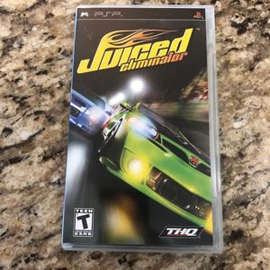 PSP Game Juiced Eliminator