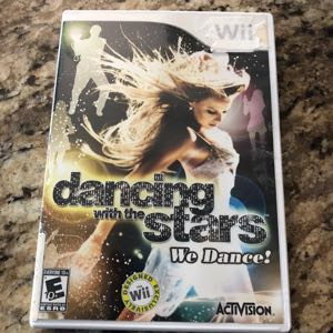 Dancing With the Stars We Dance Wii Game