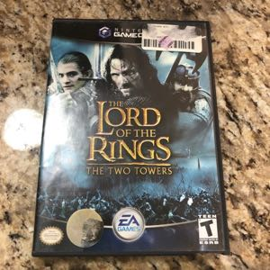 Lord of the Rings The Two Tower GameCube