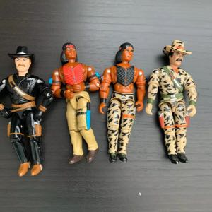 1997 Lannard Action Figures The Corps