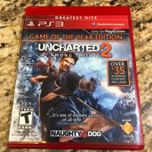 PS3 Game Uncharted 2 Among Thieves