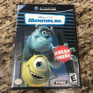 GameCube Disney Monsters, Inc.