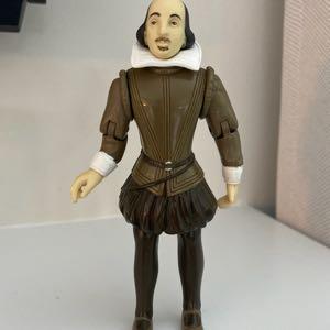 "Unique Accoutrements (c.2003) William Shakespeare 5"" Action Figure Toy"