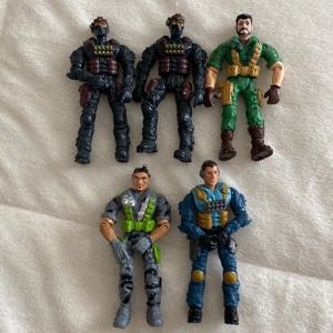2003 Lannard The Corps action figures