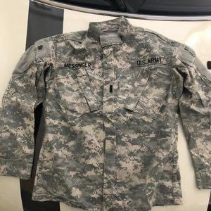 Army Combat Uniform Pattern Top Jacket X-Small/Short