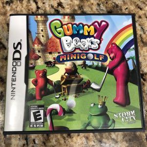 Nintendo DS Gummy Bears Mini Golf