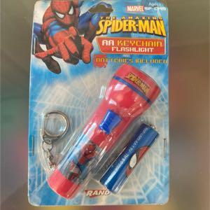 Marvel Spider-Man AA Keychain Flashlight
