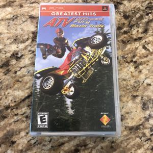 ATV Off-road Fury Blazin' Trails PSP