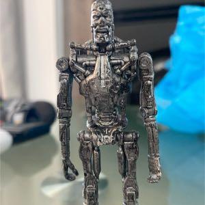 4 Inch Terminator T-700 skeleton figure