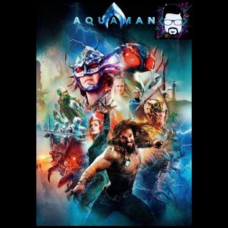 Aquaman 4K Movies Anywhere