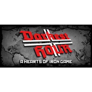Darkest Hour: A Hearts of Iron Game [Steam] - Instant Delivery
