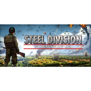 Steel Division: Normandy 44 [Steam] - Instant Delivery