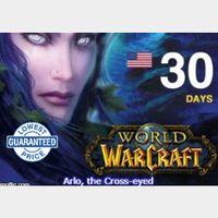 World of Warcraft - 30 days game time