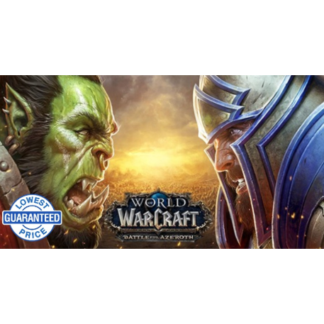 World of Warcraft: Battle for Azeroth Battle net Key NORTH