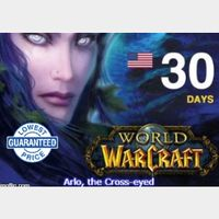 10 X World of Warcraft - 30 days game time keys