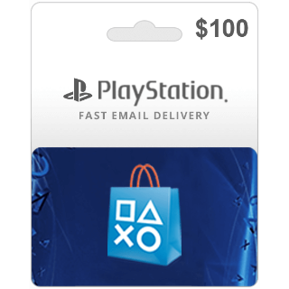 $100.00 PlayStation Store