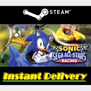 Sonic & Sega All-Stars Racing - Steam Key - Region Free - Instant Delivery
