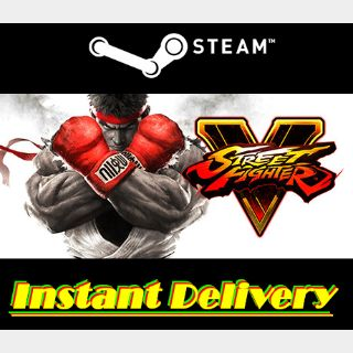 Street Fighter V - Steam Key - Region Free - Instant Delivery - RRP = $19.99