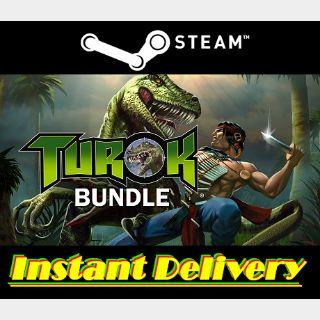 Turok Bundle - Steam Keys - Region Free - Instant Delivery - RRP = $29.98